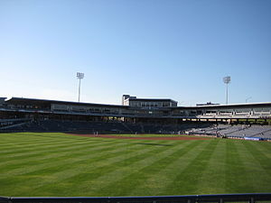 ONEOK Field - A view of ONEOK Field from the outfield