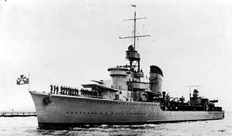 J. Samuel White - Polish destroyer ''Grom''