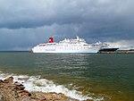 Ocean Dream and Zuiderdam at Pier in Port of Tallinn 1 June 2017.jpg