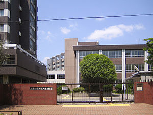 Ochanomizu University - Image: Ochanomizu University (south gate)