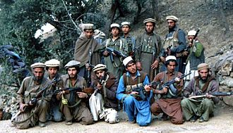 Resistance movement - Mujahideen loyal to Yunus Khalis, in October 1987