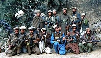 Resistance movement - Mujahideen loyal to Yunus Khalis, in October 1987