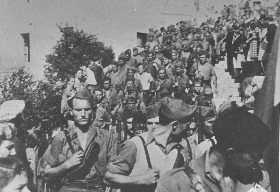 Odlazak Splićana u partizane 1943
