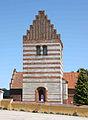Oelsemagle Kirke Denmark belfry.jpg