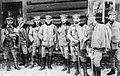 Oficerowie z kompanii saperów I Brygady LP, 1915.jpg