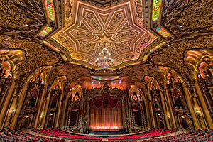 Ohio Theatre (Columbus, Ohio) - Interior of theatre