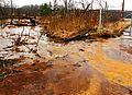 Ohio Valley Mushroom Farm, Acid-Mine Drainage (AMD) (13670918103).jpg