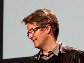 Olafur Eliasson speaking at TED in 2009 closeup.jpg