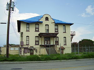 Cage Elementary School - The old Rufus Cage building