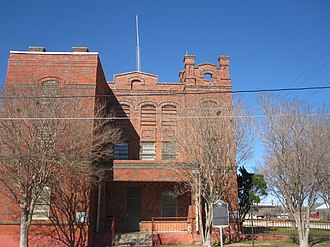 Atascosa County, Texas - Image: Old Atascosa County Jail, Jourdanton, TX IMG 2529