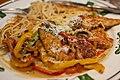 Olive Garden's Chicken scampi for dinner (5931816047).jpg