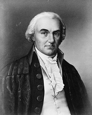 Crimes Act of 1790 - Senator (and future Chief Justice) Oliver Ellsworth was the drafter of the Crimes Act.