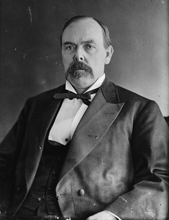 Indiana in the American Civil War - Governor, Congressman and Senator Oliver H.P. Morton