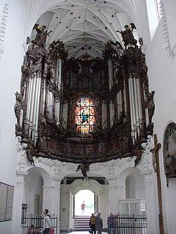 Oliwa Cathedral in Gdańsk - organ 2