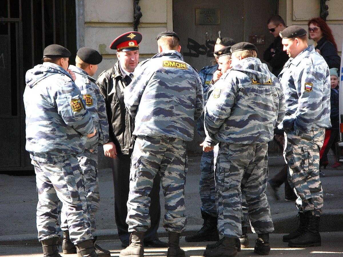 Un forcené se barricade dans une chambre d'hôtel et menace de tout faire sauter 1200px-OmonMoskva