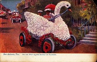 Fiesta San Antonio - Image: On the way to the Battle of Flowers, San Antonio, Texas