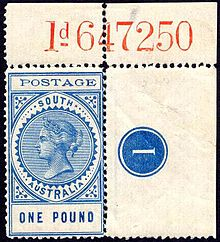 postage stamps and postal history of south australia wikipedia