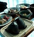 Onigiri lunch by k14 in Niigata.jpg