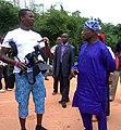 Onye Ubanatu, With President Olusegun Obasanjo.jpg