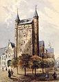 Onze Lieve Vrouweplein, Maastricht (J Lefebvre, ca 1850-60).jpg