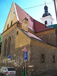 St. Michaels Church in Jircháře, Prague church