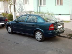 Vauxhall Belmont - Opel Astra Saloon (1998–2004)