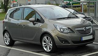 Opel Meriva Motor vehicle