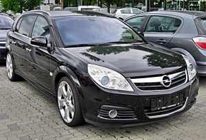 Opel Signum - Image: Opel Signum Facelift 20090717 front