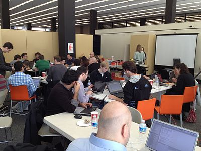 Open data hack-a-thon at the Martin Luther King, Jr. Memorial Library