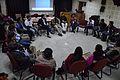 Open Discussion - Collaboration among Bengali Language Wikipedians of Bangladesh and West Bengal - Bengali Wikipedia 10th Anniversary Celebration - Jadavpur University - Kolkata 2015-01-09 2961.JPG