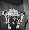 Opening IBM-schaaktoernooi in Hiltonhotel te Amsterdam, vlnr Petrosjan, Burg, Bestanddeelnr 926-5487.jpg