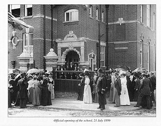 Sutton Grammar School - Image: Opening of Sutton Grammar School