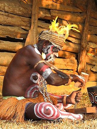Asmat people - Image: Orang Asmat