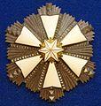 Order of the White Star 1st class star (Estonia before 1940) - Tallinn Museum of Orders.jpg