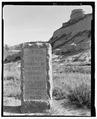 Oregon Trail, Nebraska state marker. View S. - Scotts Bluff Summit Road, Gering, Scotts Bluff County, NE HAER NE-11-7.tif
