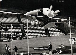 Oscar Raise Italian high jumper