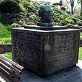 Ostseite Gedenkstein zum 200.Geburtstag Goethes geschaffen von Karl Kothe.jpg