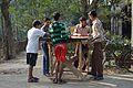 Outdoor Carrom Play - Saidpur - Taki - North 24 Parganas 2015-01-13 4769.JPG