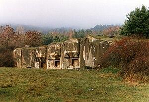 Ouvrage Hochwald - Image: Ouvrage du Hochwald (ligne Maginot)