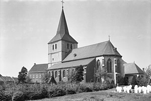 Grathem - Severin Church in 1965