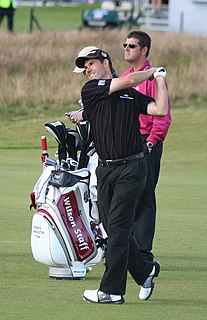 Pádraig Harrington professional golfer