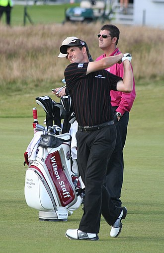 Pádraig Harrington - Harrington at the Open Championship in 2007