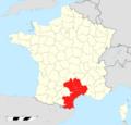 Pôle métropolitain de Montpellier locator map.png