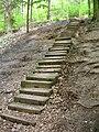 Příhrazy, schody ke Starým Hradám.jpg