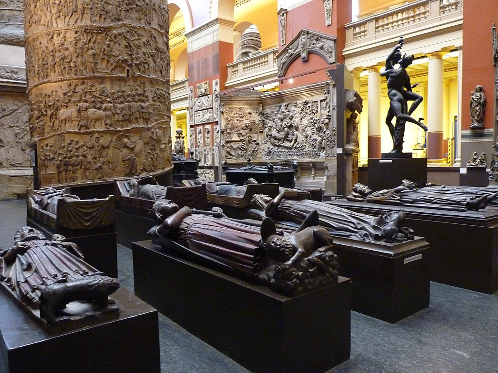 Cast Courts at the Victoria and Albert Museum