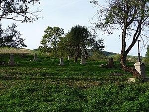 Przybyszów, Podkarpackie Voivodeship - Main cemetery in Przybyszów