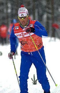 Fabio Pasini Italian cross-country skier
