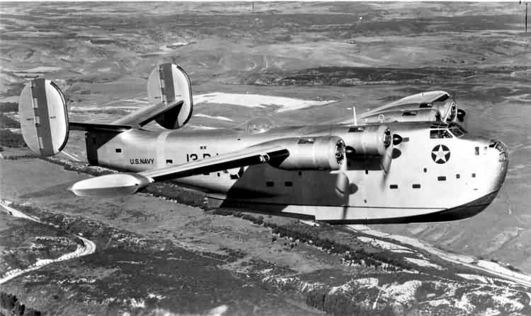 PB2Y Coronado in flight