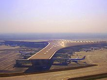 Beijing Capital International Airport Terminal 3 building view