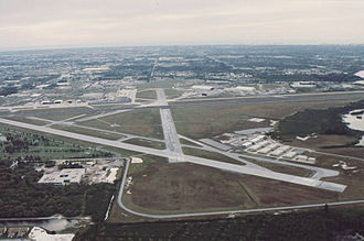 St. Pete–Clearwater International Airport - Image: PIE Runway 27